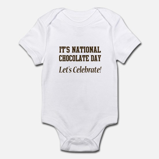 National Chocolate Day design Infant Bodysuit