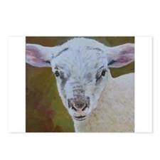 lamb Postcards (Package of 8)