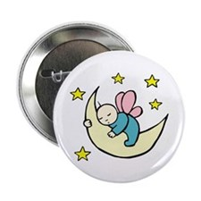 "Moon Baby 2.25"" Button"