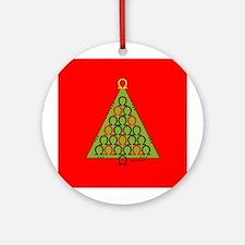 Ohm Tree Ornament (Round)