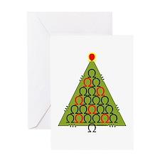 Ohm Tree Greeting Card