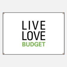 Live Love Budget Banner