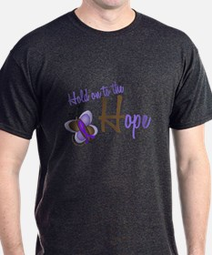 Hold On To Hope Butterfly 2 EC T-Shirt