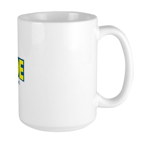 You Can Always Tell a Swede Large Mug