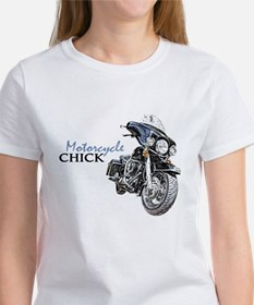 Motorcycle Chick Women's T-Shirt