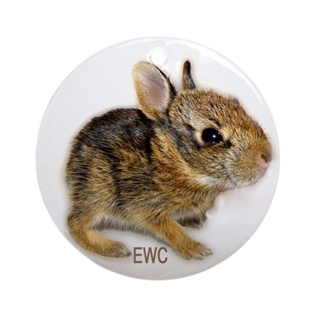 EWC Cottontail Ornament (Round)