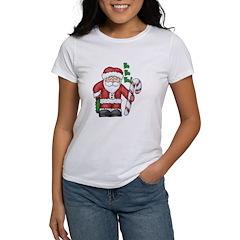 Santa Claus HO HO HO Women's T-Shirt