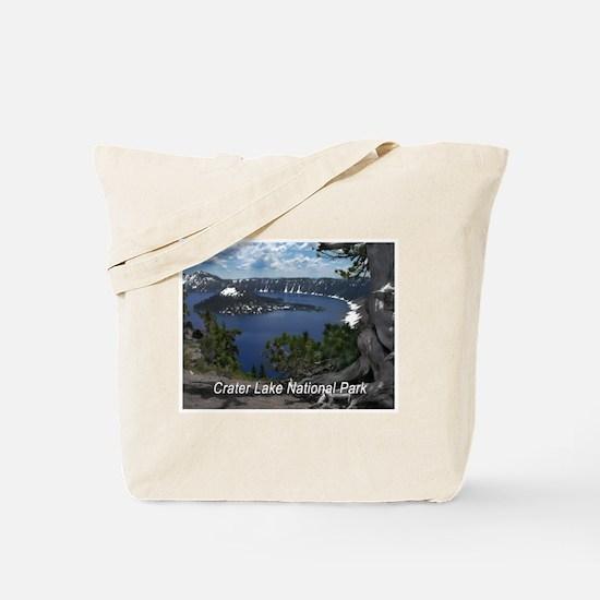 Unique Crater lake Tote Bag