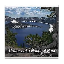 Funny Lake Tile Coaster