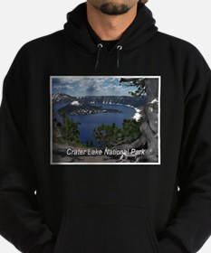 Unique Crater lake Hoodie (dark)