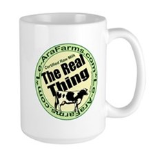 Certified Raw Milk Mug