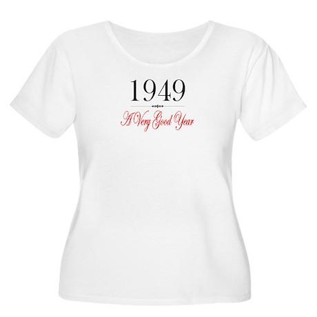 1949 Women's Plus Size Scoop Neck T-Shirt