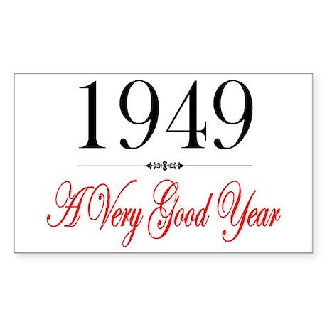 1949 Rectangle Sticker