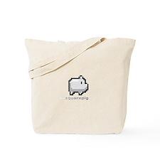 Square Pig Tote Bag
