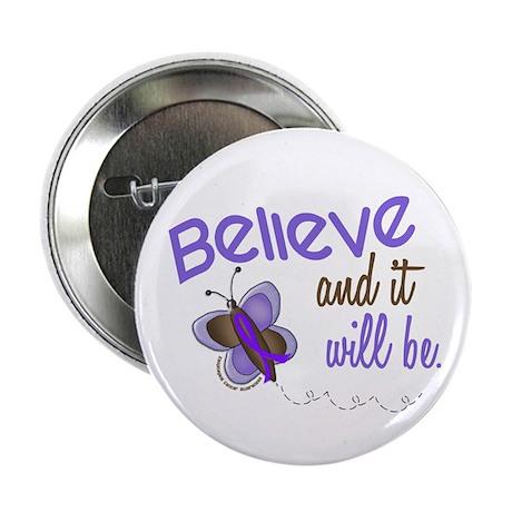 """Believe Butterfly 2 EC 2.25"""" Button"""