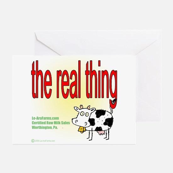 Certified Raw Milk Greeting Cards (Pk of 10)