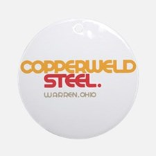Copperweld Steel Ornament (Round)