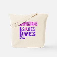 Funny Mammogram Tote Bag