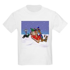 North Pole Dachshunds T-Shirt