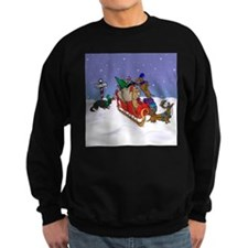 North Pole Dachshunds Sweatshirt