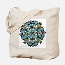 TURQUOISE FIRE Tote Bag