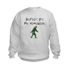 Bigfoot Ate My Homework. Sweatshirt