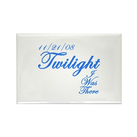 I was there Twilight Rectangle Magnet