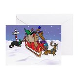 Dachshund Greeting Cards (20 Pack)