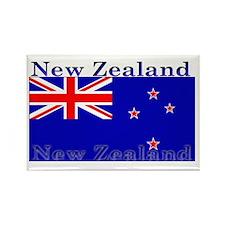 New Zealand Zealander Flag Rectangle Magnet