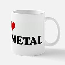 I Love DEATH METAL Mug