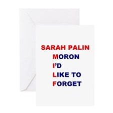 Sarah Palin is a MILF Greeting Card
