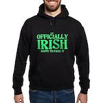 Officially Irish Hoodie (dark)