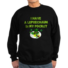 Pocket Leprechaun Sweatshirt (dark)