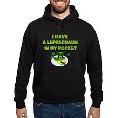Pocket Leprechaun Hoodie (dark)