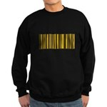 Pittsburgher Barcode Sweatshirt (dark)