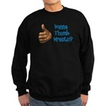 Thumb Wrestle Sweatshirt (dark)