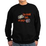 Tips should fold Sweatshirt (dark)