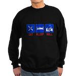 Eat. Sleep. Sell. Sweatshirt (dark)