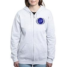 UFP Seal Blue Zip Hoodie