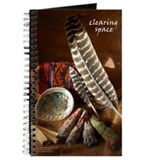 Clearing Space Smudge Journal