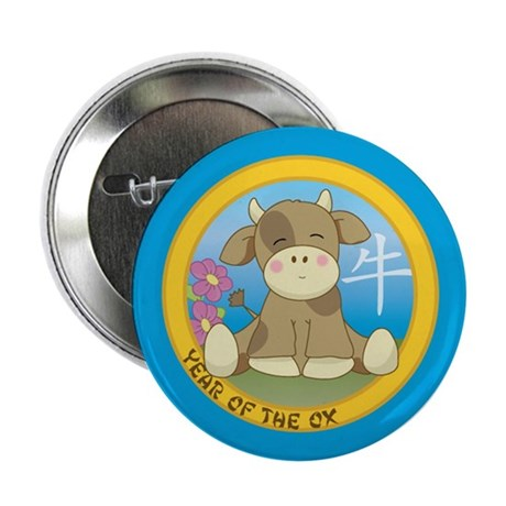 "Year of the Ox 2.25"" Button (10 pack)"