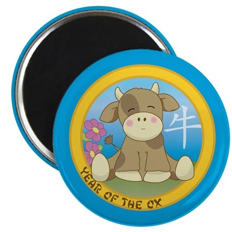 "Year of the Ox 2.25"" Magnet (10 pack)"