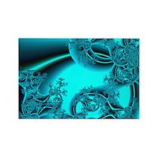 """""""Daybreak"""" Fractal Art Rectangle Magnet"""