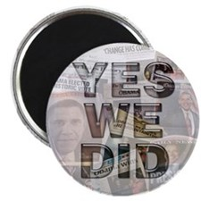 Yes We Did Magnet