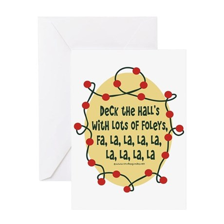 Deck the Hospital Halls Greeting Card