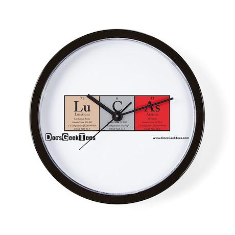 Lu C As Color Wall Clock