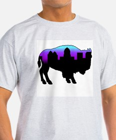 Purple Skyline T-Shirt