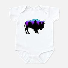 Purple Skyline Infant Bodysuit