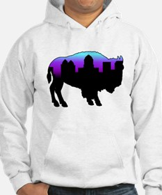 Purple Skyline Jumper Hoody