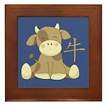 The Ox Framed Tile